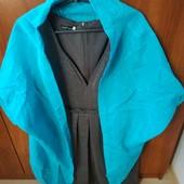 Платье стильное с накидкой-пончо ODGI на наш 52-54 состояние новых