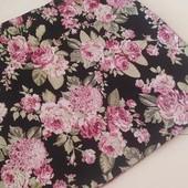 Яркая трикотажная фактурная юбка,цветочный принт George