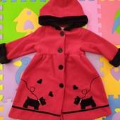 Пальто для девочки 1,5-2 года Petes Partner
