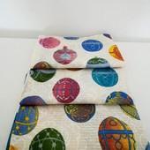 Набор красивых пасхальных полотенец из хлопка!
