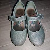 Туфельки Эльзы 33размер на фото см замеры