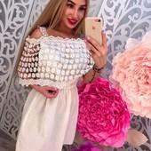 шикарная модель платья, с прекрасной ткани котон декорировано кружевом