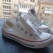 Белые классические кеды converse all star 35 35.5 36 размер