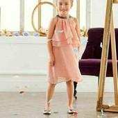 lupilu.бомбезное нарядное платье 98/104замеры