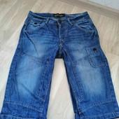 Бомбезные джинсовые  шорты /Angelo Litrico/(44)M-L