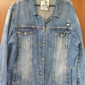 Джинсовая куртка оверсайз, р.3XL, состояние новой вещи