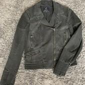 Куртка-косуха джинсовая! Как новая!