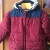 куртка весна, внутри шерпа, 1,5 года 86 см, Smile. состояние хорошее