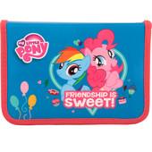 Пенал без наполнения школьный Kite My little pony LP17-622-2