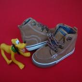 Ботинки Next натур замша 20-21 размер