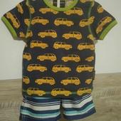 Шорты Carter's +футболка 74/80р(собирайте мои лоты)