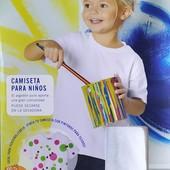 Классная футболка на девочку Lupilu Германия размер 146/152