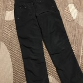 Теплі на флісі штани на зріст 140