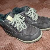Нубуковые ботинки с goreTex от Clarks 16смнога