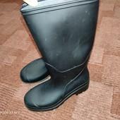 Черные резиновые сапожки Mountain Warehouse uk2/34 23см