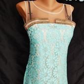***Изумительное нежное платье***размер с-м, сост отличное