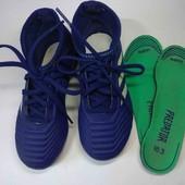 Футбольные бутсы Adidas. Оригинал. 30 р. 18,3 см