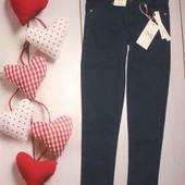 Суперовые джинсы OVS Италия 7-8л, тёмно-синие, отлично на весну и в школу!