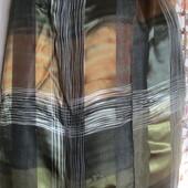 Шикарный стильный яркий шарф-атлас-шифон.Состояние нового.