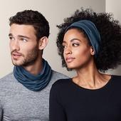 Многофункциональный шарф-снуд 7 вариантов ношения от Tchibo (Германия), размер универсальный
