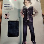 Германия!!! Крутая джинсовая курточка, демисезонная куртка для мальчика! 98 рост!