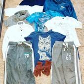 Пакет вещей на мальчика 7-8 лет