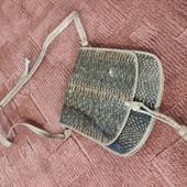 Кожаная сумочка, винтаж