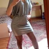 Сріблясте плаття , стан нового M,Lфірми Reserved, 10% знижка на УП