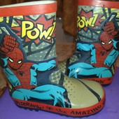 Резиновые сапоги со Спайдерменом