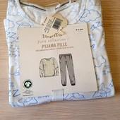 Котонова піжамка, розмір 110 116, бренд lupilu, германія