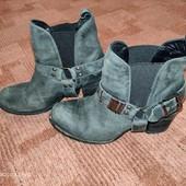 Кожаные ботинки Челси us8