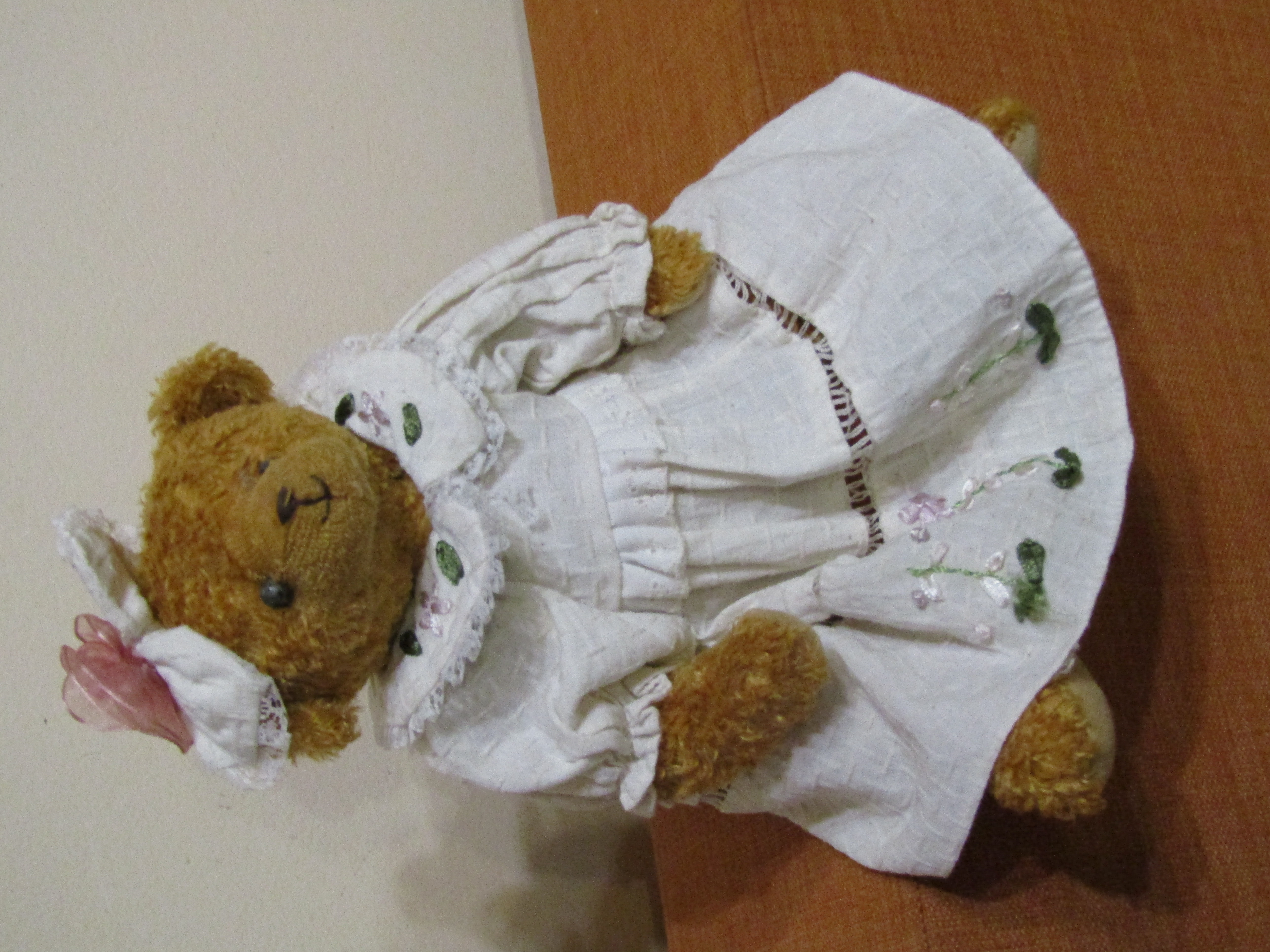 """Коллекционная игрушка. Оригинал. Мишка """"Теди"""" девочка, Испания, 30 см"""