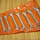 Набор рожковых гаечных ключей 8 шт