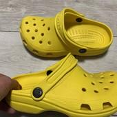 Кроксы Crocs оригинал J2 стелька 21,5 см