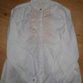 Блузка рубашка Zara на 11 лет