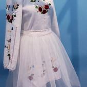 Платье вышиванка, полностью ручная работа