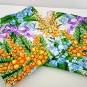 Набор красивых полотенец отличного качества!