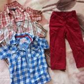 комплект фирменных вещей для модника, 2-3 года