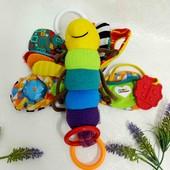 Lamaze развивающая игрушка погремушка подвеска для малышей