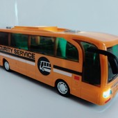 Инерционный автобус Dream Makers C1911 со световыми и звуковыми эффектами