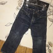 ☆Стильные джинсы Denim !1-2года.Утяжка в поясе.Синие!