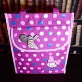 Яркая вместительная сумка для юной модницы Hello Kitty, шоппер, сумка для прогулок
