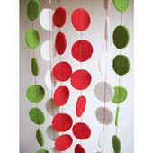 Фетровые кружки 100шт для детского творчества
