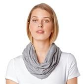 ☘ Універсальний шарф-снуд від Tchibo (Німеччина), розмір універсальний, сірий