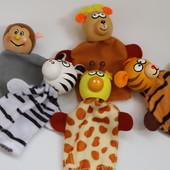 Набор игрушек на пальцы. Веселые зверюшки