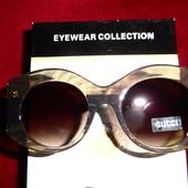 Шикарные солнцезащитные очки Gucci (реплика), снижена цена