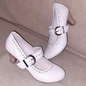 туфли в стиле Мэри Джейн стелька 25,3 см