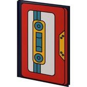 Торговая марка: Kite.Книга записна тверда обкл. А6, 80арк. кл BeSound-4