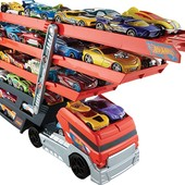 Hot Wheels mega hauler truck - Автовоз hot wheels на 50 авто Хот Вилс. Оригінал