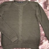 Вязаный свитерок Zara р.42 смотрите замеры